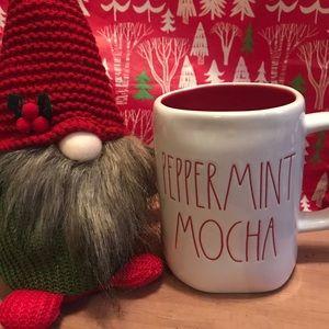 Rae Dunn peppermint mocha mug